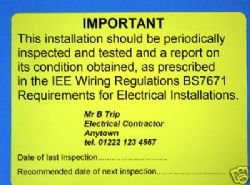 Groovy Electricians 17Th Edition Labels Wiring Digital Resources Inamasemecshebarightsorg